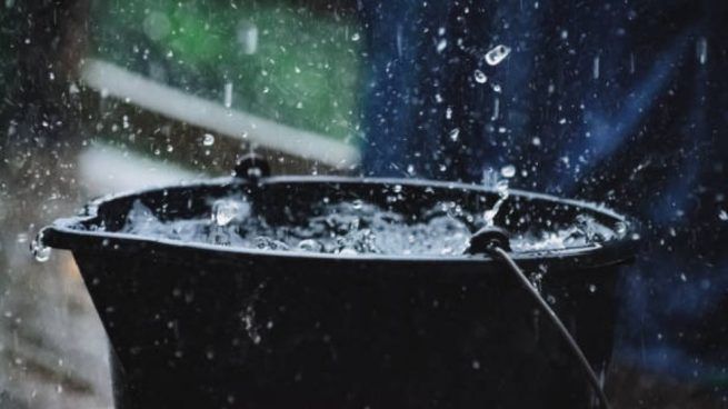 recolectar agua de lluvia