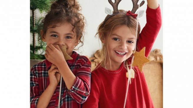 Descubre la colección navideña de H M para niña c6603f41ba1