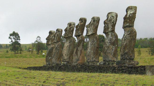 Todas las curiosidades tras las estatuas moáis de la Isla de Pascua