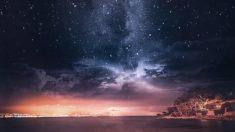 Los cielos de noche son paisajes espectaculares para hacer fotografías