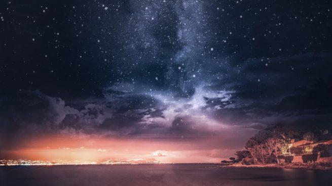 fotografiar un cielo nocturno