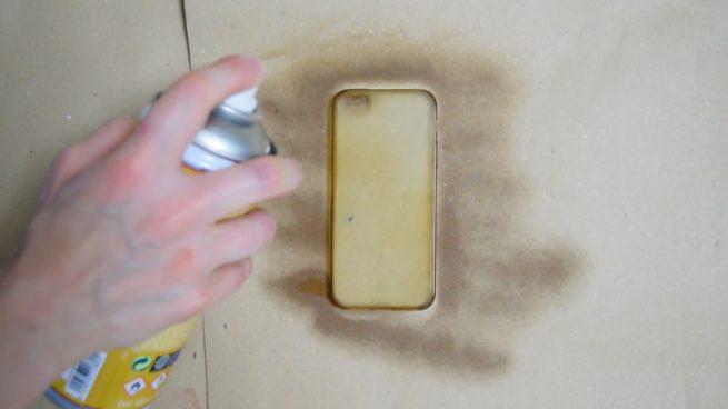 pintar la carcasa del móvil
