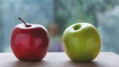 Una manzana tiene una gran cantidad de potasio
