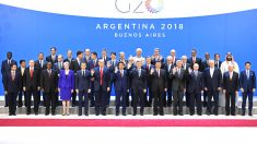Foto de familia en la cumbre del G20 en Buenos Aires (Foto: AFP).