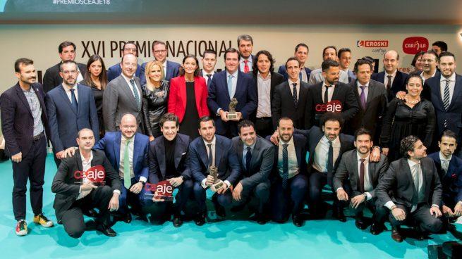 CEAJE entrega a Enrique Riquelme el Premio Nacional Joven Empresario 2018