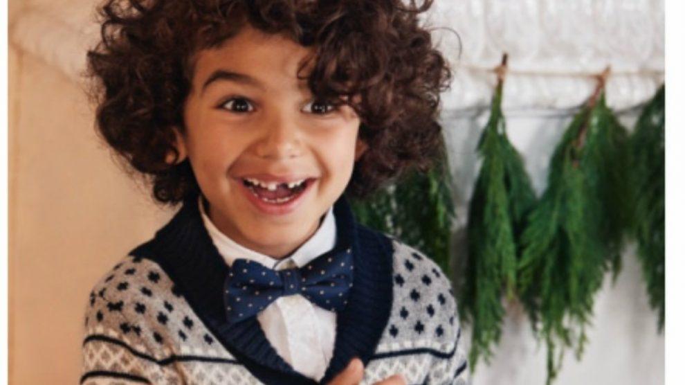 Descubre la colección navideña de H&M para niño