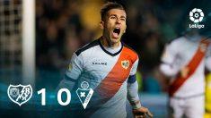 El Rayo gana al Eibar. (EFE)