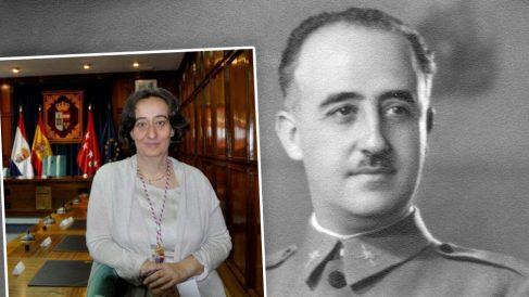 La alcaldesa de San Lorenzo de El Escorial, Blanca Juárez Lorca.