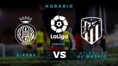 Liga Santander 2018 – 2019: Girona – Atlético| Horario del partido de fútbol de la Liga Santander.
