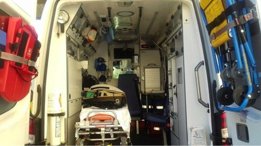 Interior de una ambulancia. Foto: Europa Press