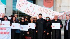 Protestas de abogados contra 'Madrid Centro'.