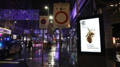 Nueva señal de Madrid Central desde este viernes a las 00.00. (Foto. Ayto)
