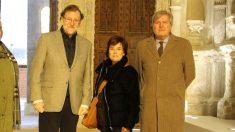Mariano Rajoy, Soraya Sáen de Santamaría e Iñigo Méndez de Vigo durante una visita a Cuenca de carácter personal la pasada semana. Foto: Twitter