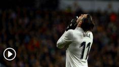Bale fue pitado por el Bernabéu.