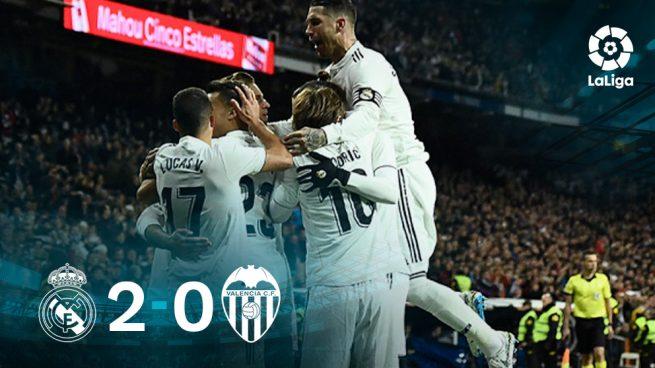 El Real Madrid sale del atasco