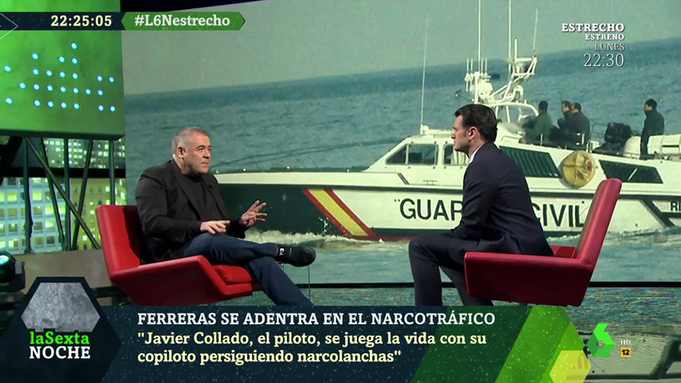 Antonio García Ferreras, entrevistado en La Sexta Noche.