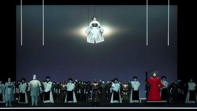 El Teatro Real estrena «Turandot» con Montserrat Caballé en el recuerdo