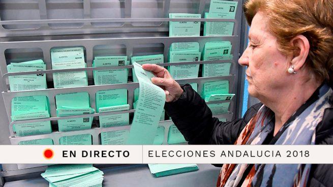 Resultado de las elecciones andaluzas 2018, en directo