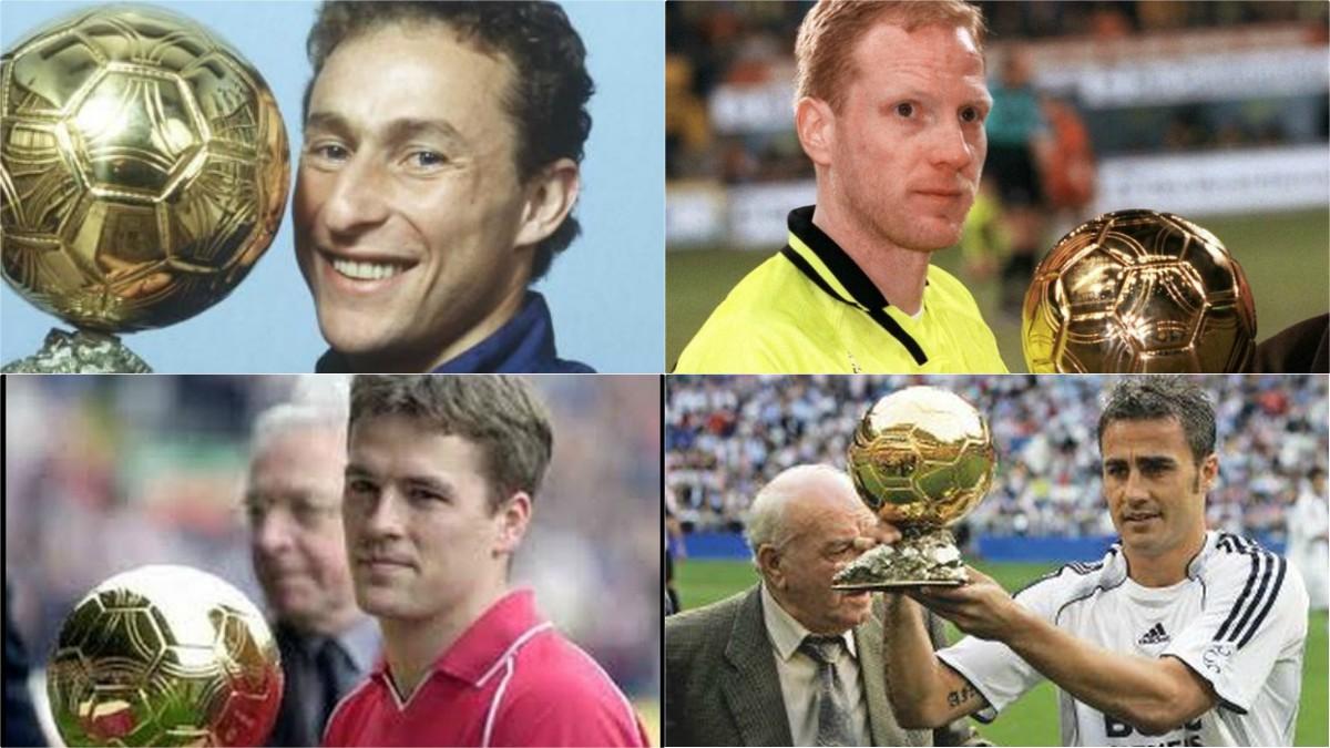 Jugadores que ganaron un polémico Balón de Oro.