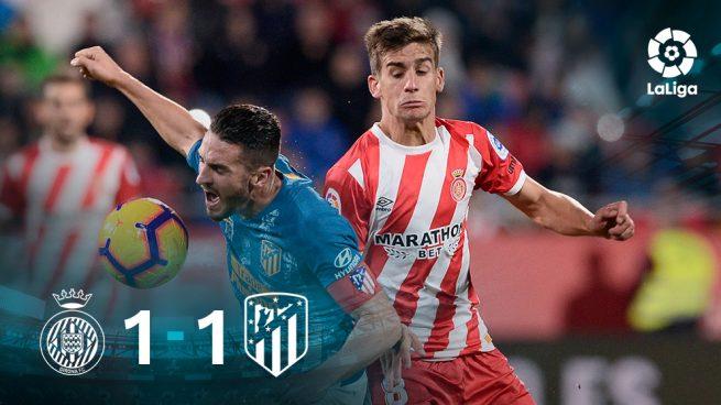 El Atlético no liga en Gerona