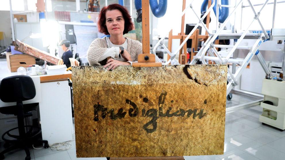 Greta García en una reciente imagen (Foto: EFE).