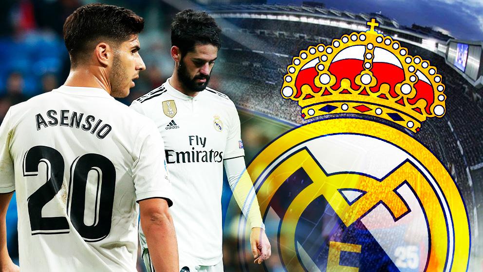 En el Real Madrid no están contentos con el rendimiento de Isco y Asensio