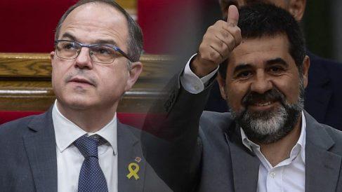Jordi Turull y Jordi Sánchez