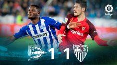 Liga Santander: Alavés – Sevilla | Partido de fútbol hoy en directo.