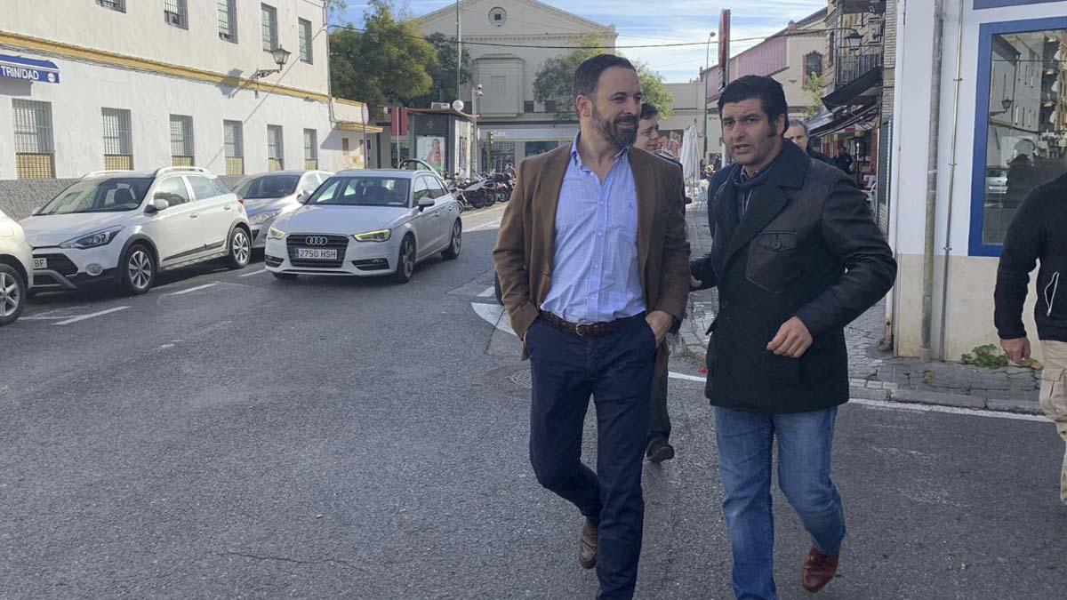 Santiago Abascal y Morante de la Puebla.