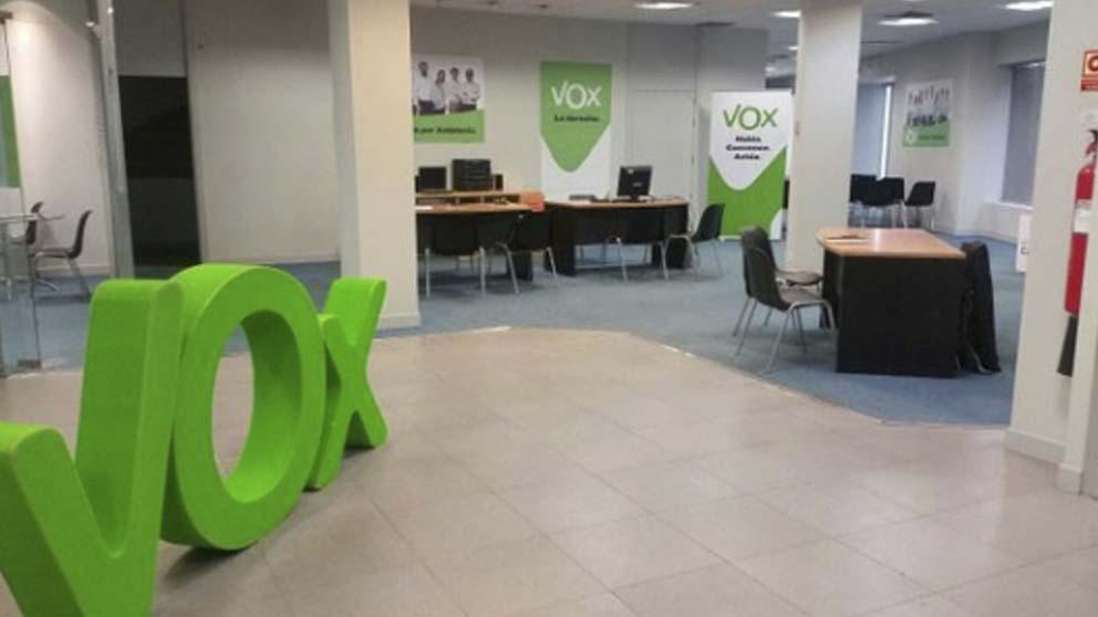 Sede de Vox en Sevilla
