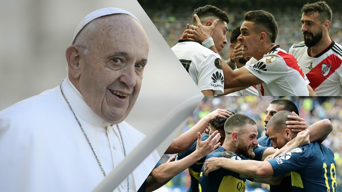 ¿Con quién irá Jorge Bergoglio en la final de la Copa Libertadores 2018?
