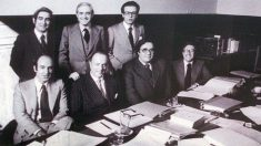 Que se sepa Gabriel Cisneros, Miguel Herrero y Rodríguez de Miñón, José Pedro Pérez-Lorca, Gregorio Peces-Barba, Jordi Solé Tura, Manuel Fraga y Miquel Roca eran hombres.