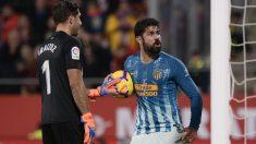 Diego Costa celebra el gol ante el Girona. (AFP)