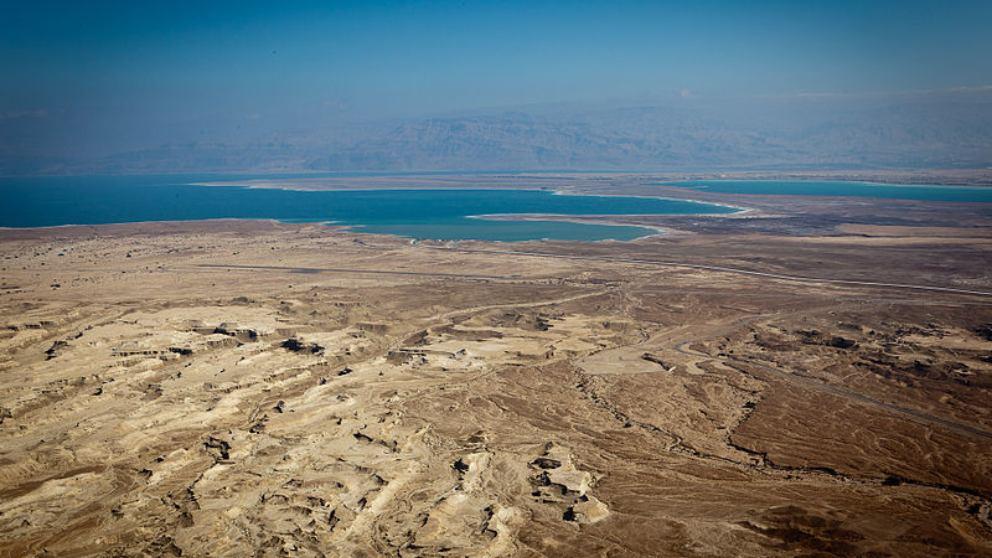 Hallado un meteorito del Mar Muerto que puede explicar un pasaje bíblico