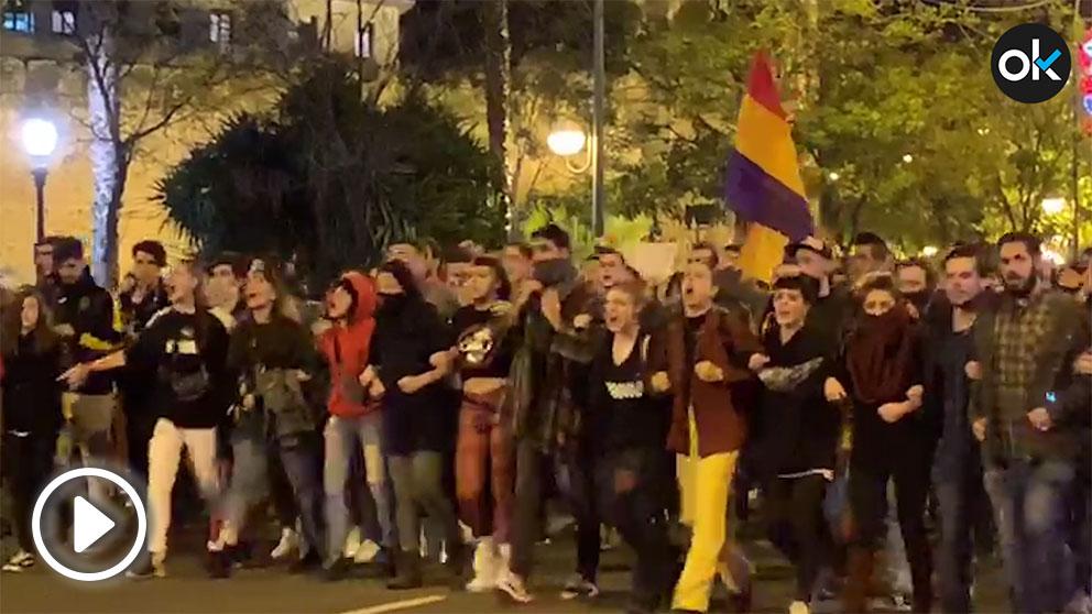 Manifestaciones contra VOX en Sevilla
