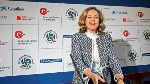 Nadia Calviño, ministra de Economía. Foto: EFE