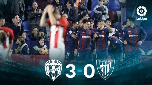 Liga Santander: Levante – Athletic | Partido de fútbol hoy en directo.