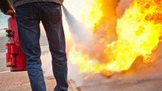 Los extintores deben saber utilizarse para conseguir apagar el fuego