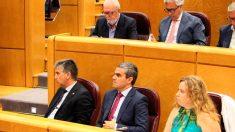 La bancada del Partido Popular en el Senado. Foto: Europa Press