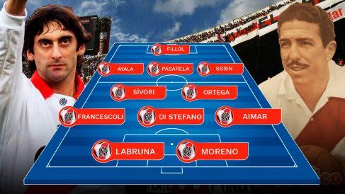 River Plate ha disfrutado de alguno de los mejores futbolistas de toda la historia.