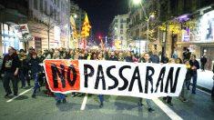 Manifestación convocatada a través de las redes sociales por los autodenominados 'comités de defensa de la república' (CDR) en Barcelona (Foto: Efe)