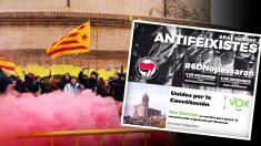 Los CDR, de la mano de antifascistas, quieren impedir un acto en Gerona donde participará VOX.