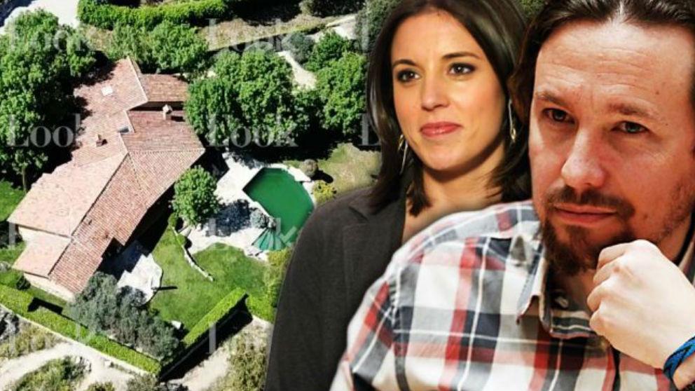 El chalé de lujo de Irene Montero y Pablo Iglesias (Foto: 'Look')
