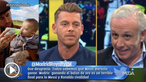A Jota Jordi le cegó su campaña contra Sergio Ramos en El Chiringuito.