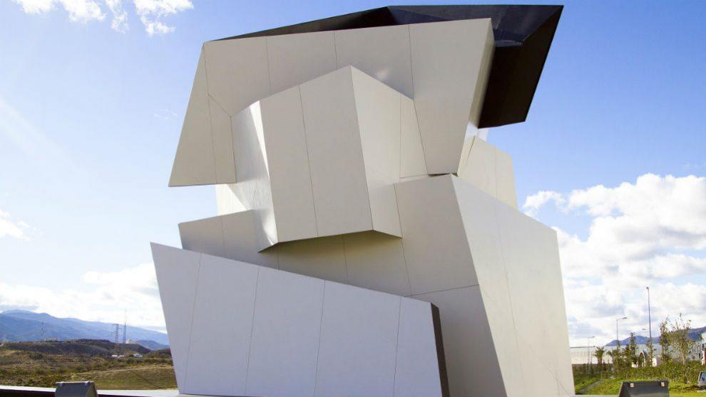 Escultura 'Beyond the wall' (Foto: Cosentino)