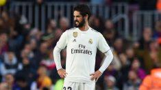 Isco, en un partido del Real Madrid de la presente temporada (Getty).