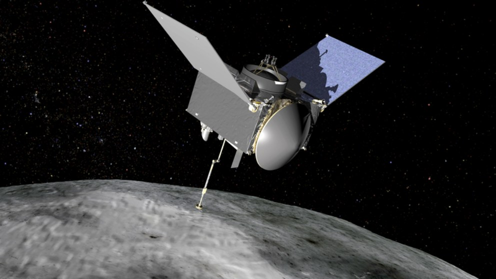 La Osiris-Rex en órbita buscando el origen de la vida en el asteroide Bennu
