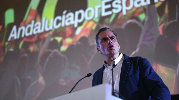 El secretario general de VOX, Javier Ortega Smith. (Foto: EFE)