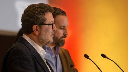 Santiago Abascal y Francisco Serrano