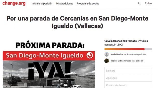 Vecinos de Vallecas denuncian estar aislados y recogen miles de firmas para mejorar su movilidad
